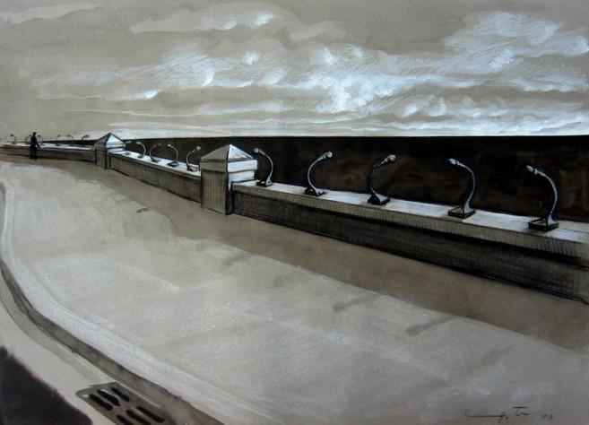 1, 2, 3, Probando, 2000 / Mixta/Cartulina, 50 x 70 cm
