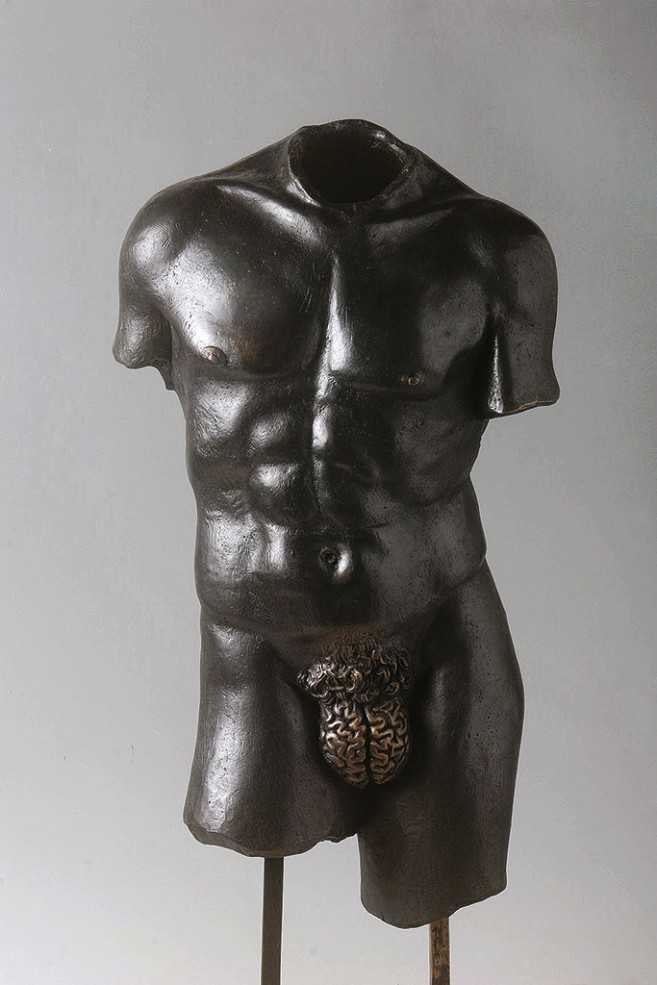 Rational, 2004-2007 / Cast bronze / 80 x 30 x 25 cm
