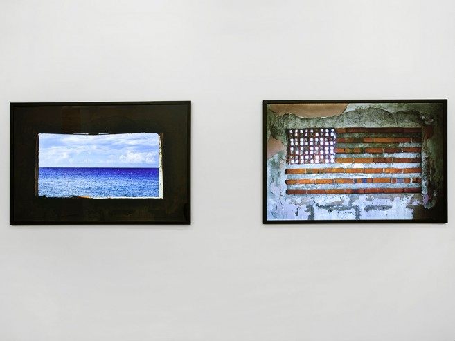 In and Out, Before and After, 2010 / Dos cajas de luz (Díptico) / 100 x 150 x 5 cm each one