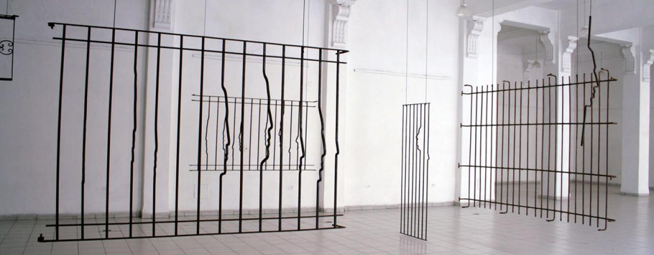 Paranoia (Installation), 2006-2007 / Forged steel / Variable dimensions