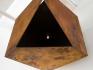 Sacra Geometría (buscando identidad), 2015 / Acero / 70 x 70 x 70 cm