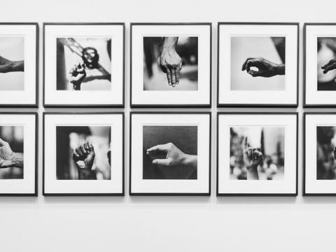 Abstinencia (democracia), 2012 / Plata/Gelatina / 30x35 cm cada una