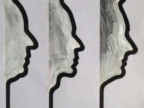 Paranoia, 2006 / Mixta/Cartulina / 70 x 50 cm