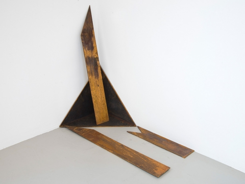 Sacra Geometría (perdiendo identidad), 2015 / Steel / Variable dimension