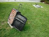Nostalgia, 2013 / Bronze, bricks and cement / 91,5 x 102 x 23 cm / at LongHouse Reserve, East Hampton, NY, USA