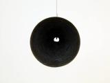 Dialogusfobia (un nudo en la garganta), 2011 (detalle) / Bronce / 30 cm de diámetro x 79 cm