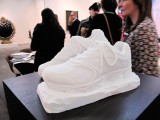 Analysis of beauty, 2010 / Carved white marble from Carrara / Variable dimensions